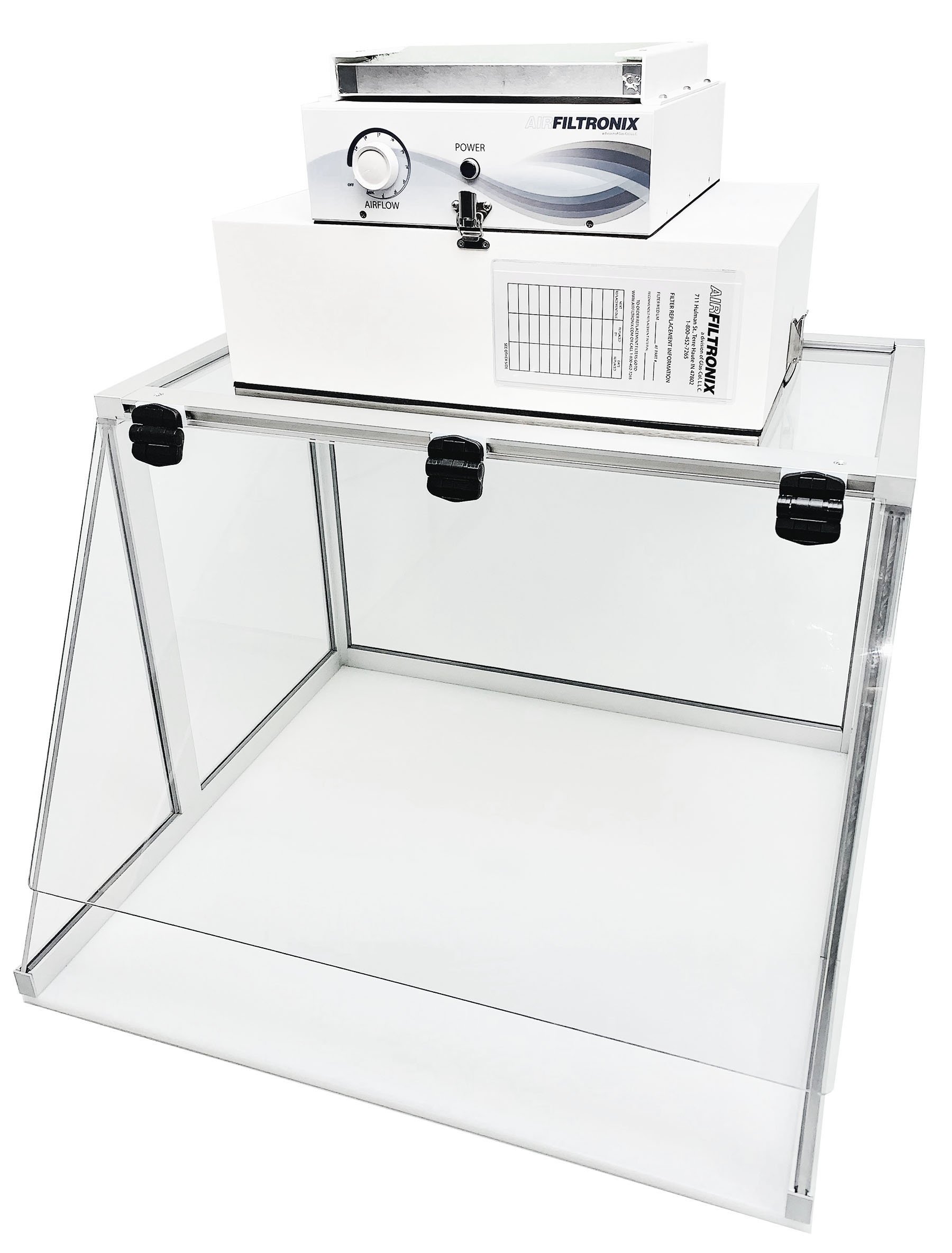 RF-5000S Tabletop Cleanroom - Fume Hood